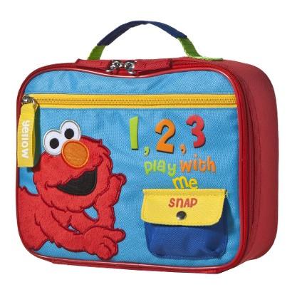 Elmo Sesame Street 123 Lunch Bag