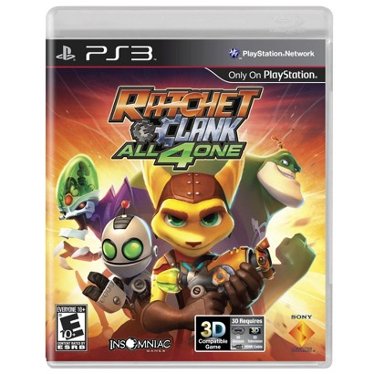 Ratchet & Clank All 4 One (PlayStation 3)