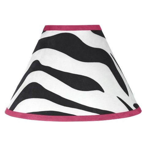 Sweet Jojo Designs Pink Zebra Lamp Shade