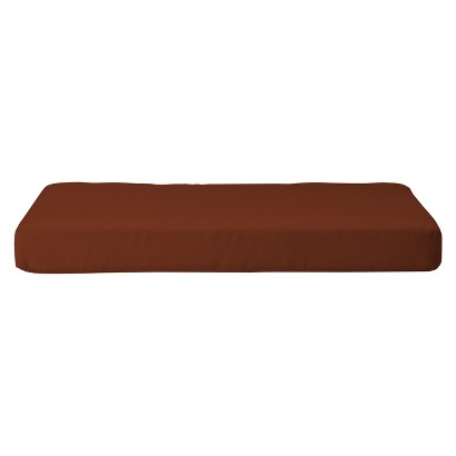 Smith & Hawken® Premium Quality Solenti™ Chair Cushion - Rust