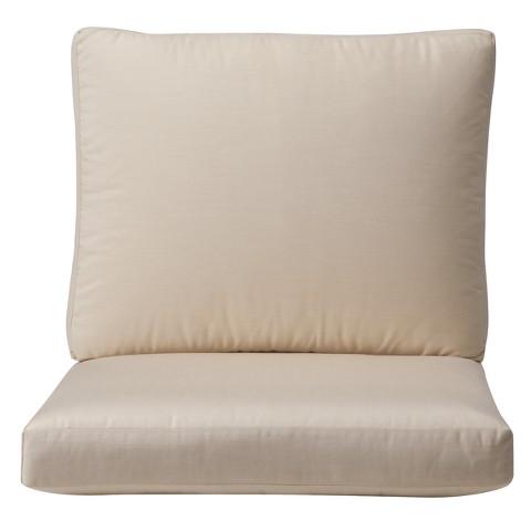 Smith & Hawken® Premium Quality Solenti™ Club Chair Cushion - Cream
