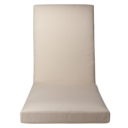 Smith & Hawken® Premium Quality Solenti Chaise Cushion - Cream