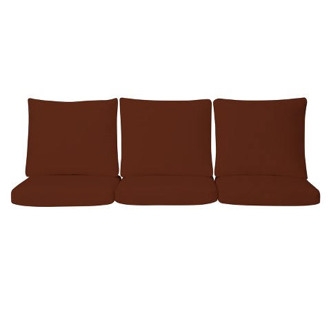 Smith & Hawken® Premium Quality Solenti™ 6-pc. Sofa Cushion Set - Rust
