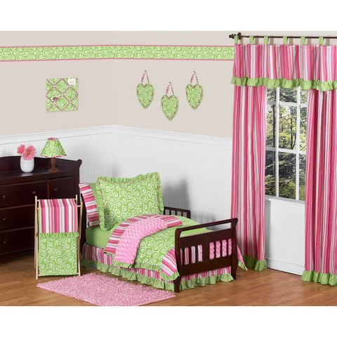 Sweet Jojo Designs Olivia 5 pc. Toddler Bedding Set
