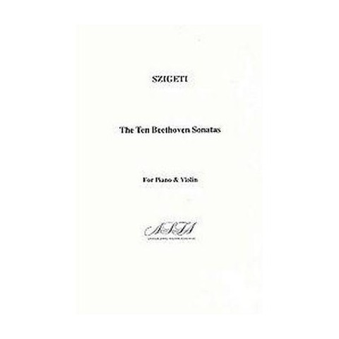 The Ten Beethoven Sonatas for Piano and Violine (Reprint) (Paperback)