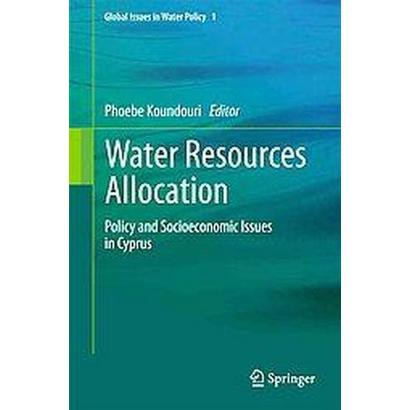 Water Resources Allocation (Hardcover)