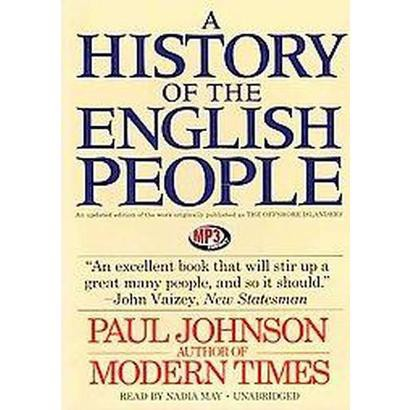 A History of the English People (Unabridged) (Compact Disc)