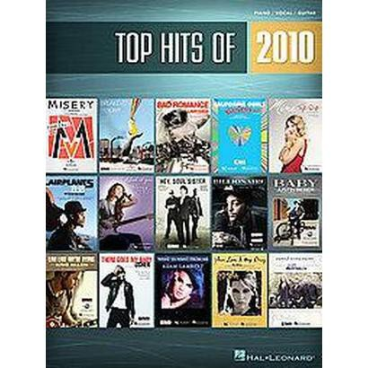 Top Hits of 2010 (Paperback)