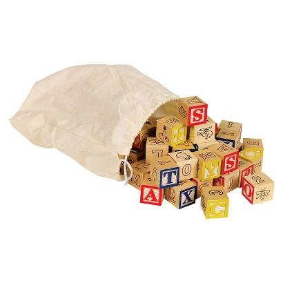 Small World Toys Bag O' ABC Blocks