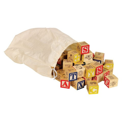 Small World Toys Bag O' ABC Blocks