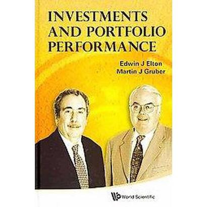 Investments and Portfolio Performance (Hardcover)