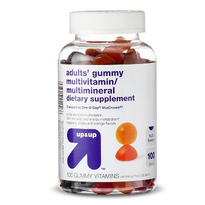 up & up Adults' Gummy Multivitamin Supplement - 100 Count