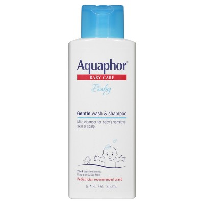 Aquaphor Baby Gentle Wash and Shampoo 8.4 oz