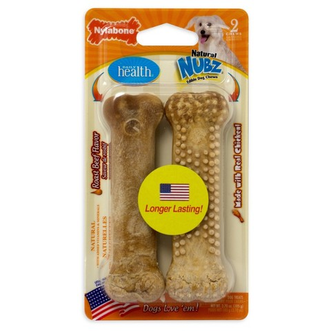 Daily Health Nylabone Roast Beef Medium Treat 2ct