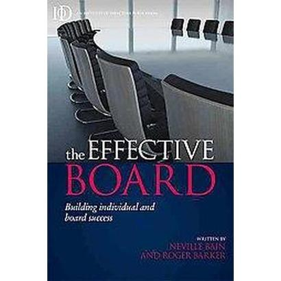 The Effective Board (Paperback)