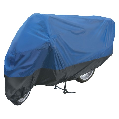 Highland Motorcycle Cover Blue, Black