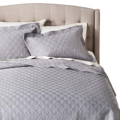 Fieldcrest® Luxury Silk Allure Quilt Set - Gray
