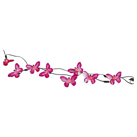 Smart Living Butterfly 20ct. Solar String Light