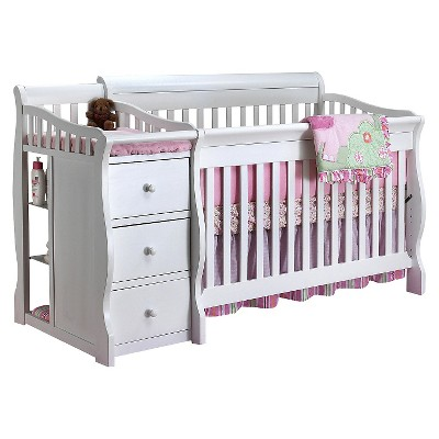 Sorelle Tuscany Crib and Changer - White