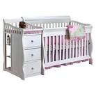 Sorelle Tuscany Crib and Changer - White