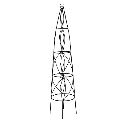 "Cast Iron Cone Obelisk (51"")"