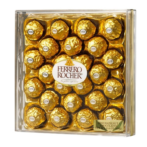 Ferrero Rocher Fine Hazelnut Chocolates 24 ct