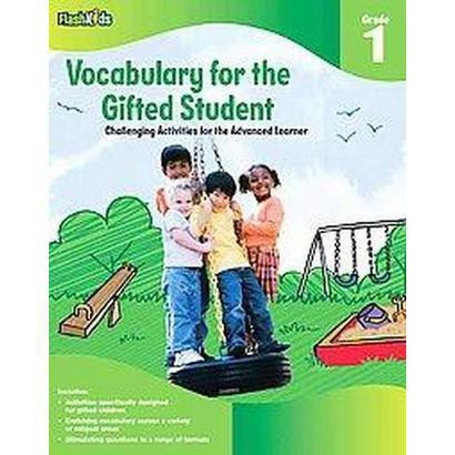 Vocabulary for the Gifted Student Grade 1 (Workbook) (Paperback)