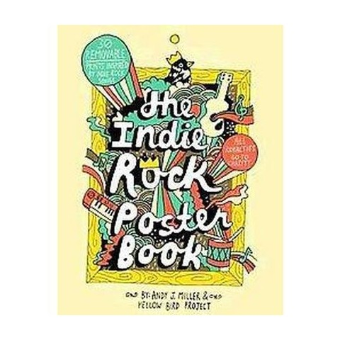 The Indie Rock Poster Book (Paperback)