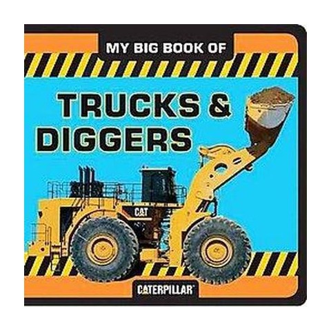My Big Book of Trucks and Diggers (Board)