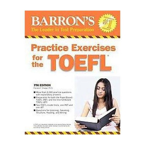 Barron's Practice Exercises for the TOEFL (Paperback)