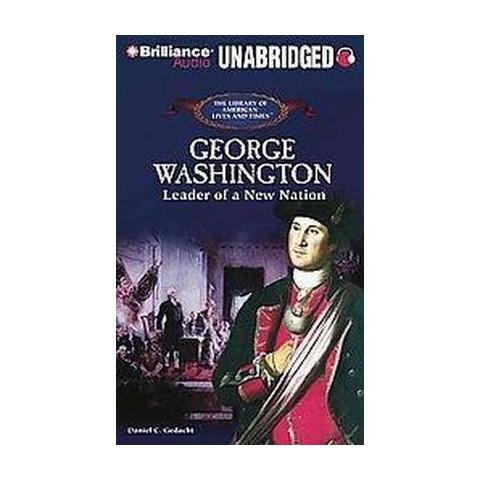 George Washington (Unabridged) (Compact Disc)