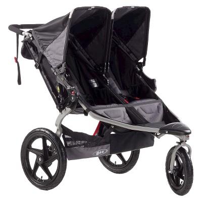 ECOM BOB Revolution SE Duallie Stroller - Black