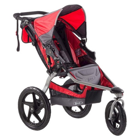 BOB Stroller Strides Fitness Single Stroller - Red