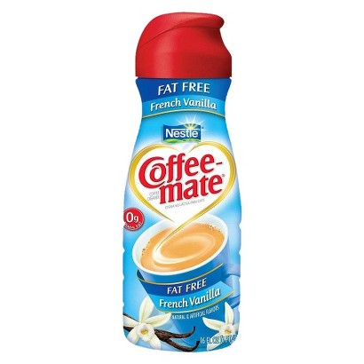 Coffee-Mate Fat Free French Vanilla Creamer 16 oz