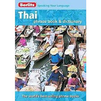 Thai Phrase Book & Dictionary (Bilingual) (Paperback)
