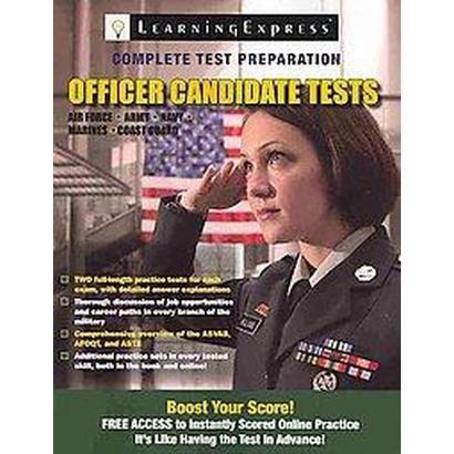 Officer Candidate Tests (Paperback)