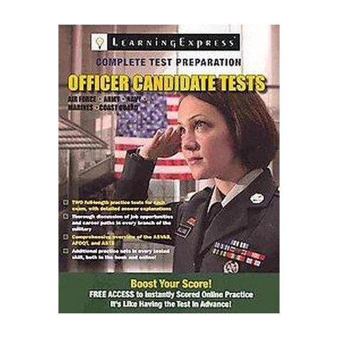 Officer Candidate Tests (Paperback)