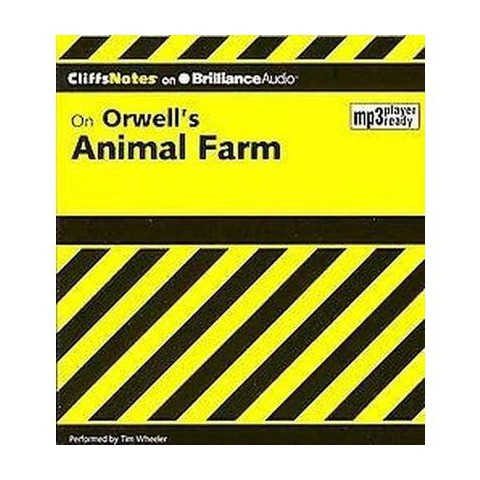 CliffsNotes on Orwell's Animal Farm (Mixed media product)