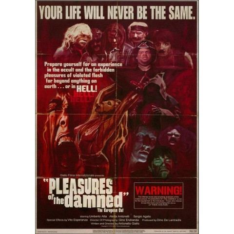 Pleasures of the Damned (European Cut)