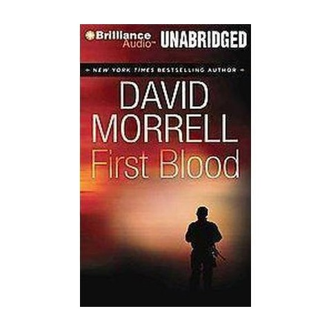 First Blood (Unabridged) (Compact Disc)