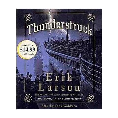 Thunderstruck (Abridged) (Compact Disc)