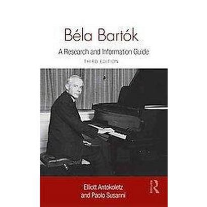 Bela Bartok (Hardcover)