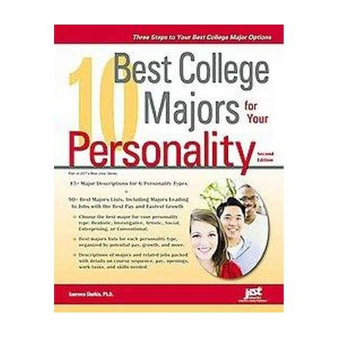 10 Best College Majors for Your Personality (Paperback)