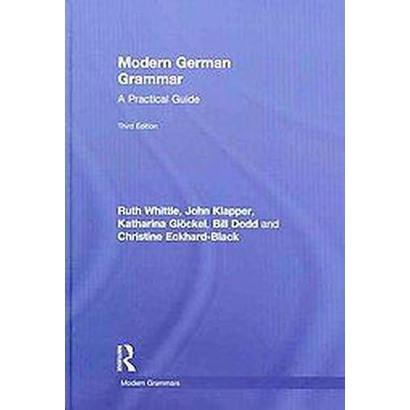 Modern German Grammar (Hardcover)