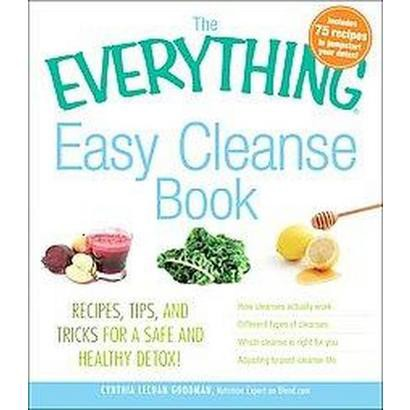 The Everything Easy Cleanse Book (Paperback)
