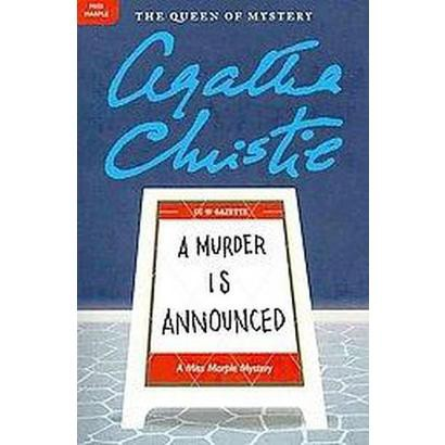 A Murder Is Announced (Reprint) (Paperback)