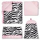Sweet JoJo Designs - Zebra Baby Girl Collecti...