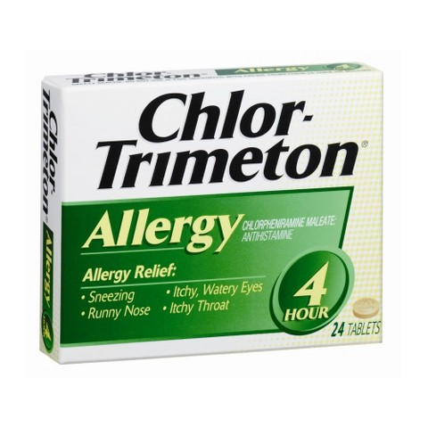 Chlor-Trimeton 4 Hour Allergy Relief Tablets - 24 Count