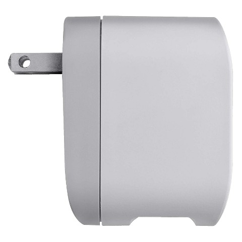 Belkin AC Charger with Swivel Plug for Kindle - Gray/White (F5L077-TG)