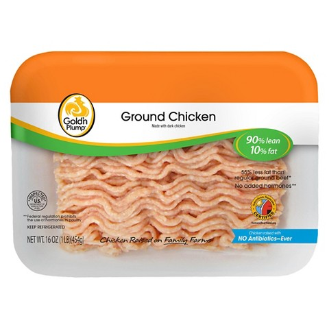 Gold'n Plump 90/10 Ground Chicken (16 oz.)